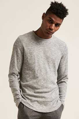 Forever 21 Marled Crew Neck Tee