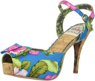 Bettie Page Women's BP412-LENI Heeled Sandal