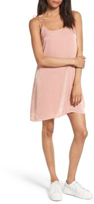 Women's Socialite Satin Slipdress $45 thestylecure.com