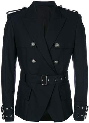 Balmain double-breasted military blazer