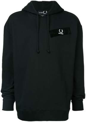 Fred Perry tape detail hoodie