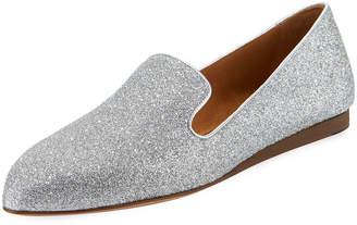 Veronica Beard Griffin Glitter Fabric Loafer