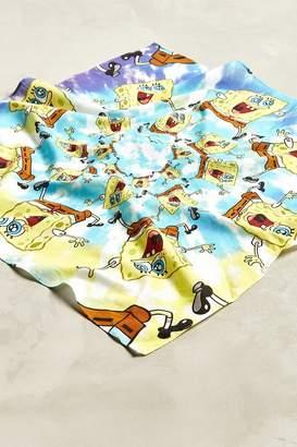 Urban Outfitters SpongeBob Tie-Dye Bandana