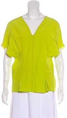 Marni Silk Short Sleeve Top