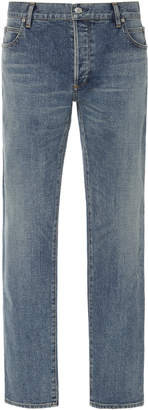 Balmain Bleached Slim-Fit Jeans