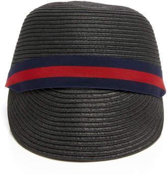 Sensi Studio Woven Straw Braided Cap