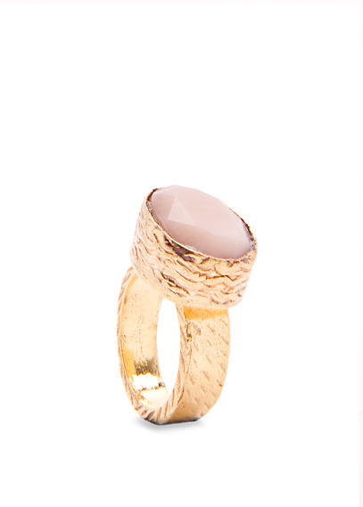 MANGO TOUCH - Incrusted stone ring