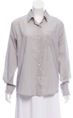 Jesse Kamm High-Low Button-Up Top w/ Tags