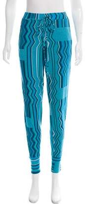 Alexis Intarsia High-Rise Joggers