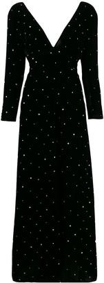 Forte Forte glitter-embellished velvet dress