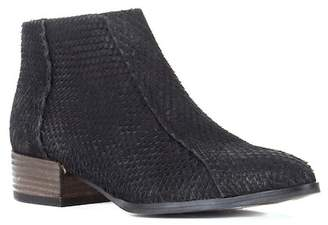 Gar-De SEY Collection Avant Garde Snakeprint Embossed Ankle Bootie
