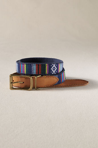 Lands' End Men's Artisan Surcingle Belt