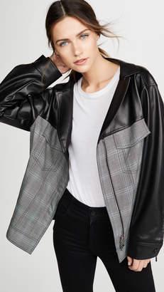 ADEAM Oversized Ruched Jacket