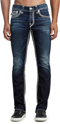 True Religion MENS SUPER QT STRAIGHT JEAN W/ FLAP