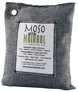 Moso Natural 600 gm Air Purifying Bag Deodorizer. Odor Eliminator for Kitchens