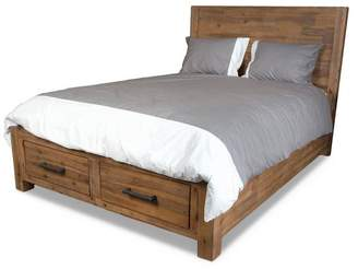 Apt2B Bunker Hill Storage Platform Bed