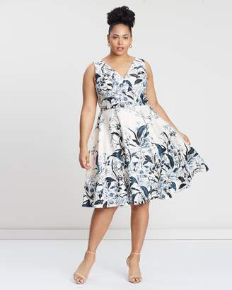 Cooper St CS CURVY Vanilla Fit-and-Flare Dress