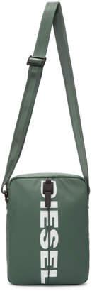 Diesel Green F-Bold Messenger Bag
