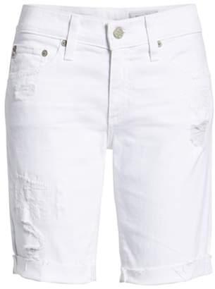 AG Jeans 'Nikki' Cutoff Denim Bermuda Shorts