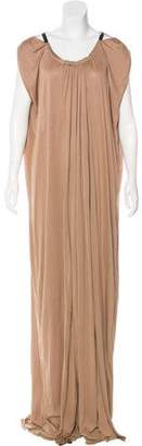 Amanda Wakeley Cap Sleeve Maxi Dress w/ Tags