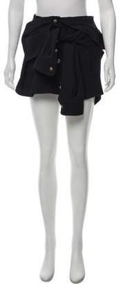 Faith Connexion Buttoned Up Mini Skirt