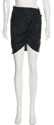 Elizabeth and James Silk Knee-Length Skirt