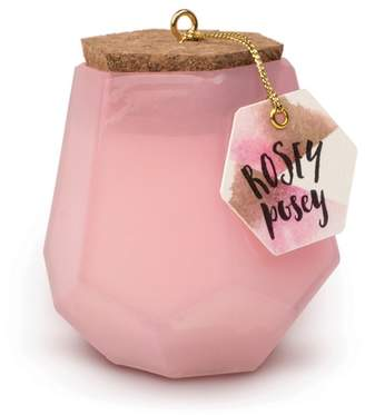 Paddywax Small Prism Rosey Posey Scented Candle