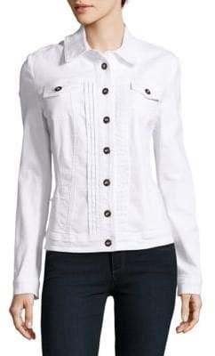 Basler Solid Cotton-Blend Jacket