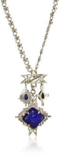 Kendra Scott Jacey Lapis Pendant Necklace