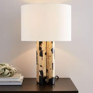 west elm Stone + Resin Table Lamp