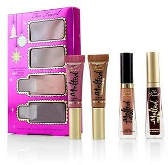 Too Faced NEW Under The Kissletoe The Ultimate Liquified Lipstick Set 4pcs