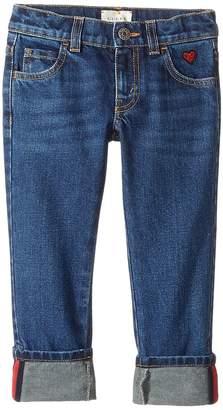 Gucci Kids Denim in Orbit/Blue/Red 457165XR435 Girl's Jeans