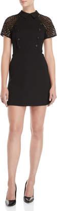 Karen Millen Black Raglan Shirtdress