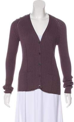 Hermes Button-Up Knit Cardigan