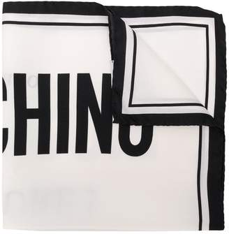 Moschino Couture! square scarf