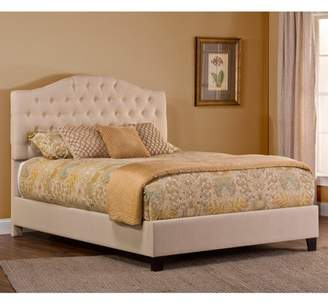 Hillsdale Furniture Jamie King Upholstered Bed with Bedframe