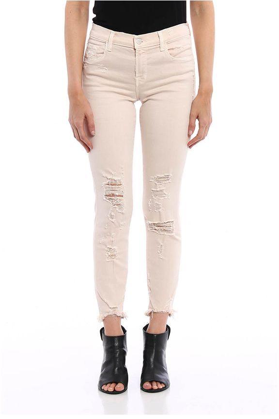 J BrandJ Brand Jeans Capri A Vita Media