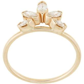 Natalie Marie 14kt yellow gold Diamond Sun ring