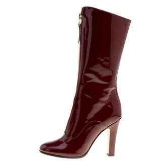 Valentino Red Patent leather Boots