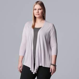 Vera Wang Plus Size Simply Vera Wrap Cardigan