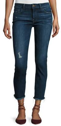 DL1961 Premium Denim Mara Instasculpt Ankle Straight-Leg Jeans, Ravine
