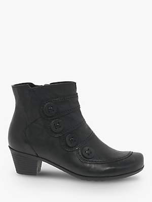Gabor Georgie Block Heel Ankle Boots