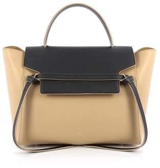 Celine Pre-owned: Bicolor Belt Bag Leather Mini.