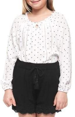 Dex Lace Trim Shorts
