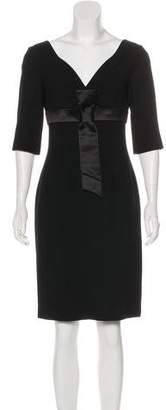 Alexander McQueen Wool Knee-Length Dress