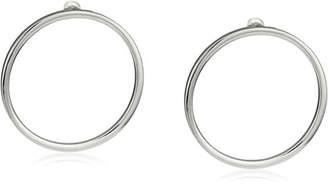 Steve Madden Large Ring Post Drop Earrings