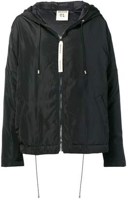 Semi-Couture Semicouture oversized hooded jacket
