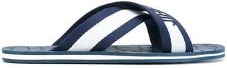 Jimmy Choo branded flip flops