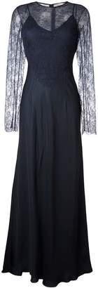 Nina Ricci lace detail overlay dress