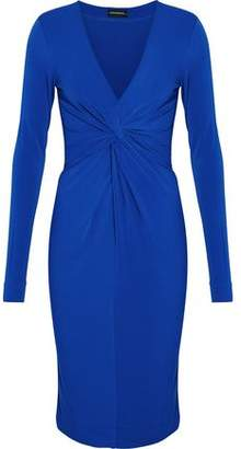 By Malene Birger Twist-Front Stretch-Crepe Dress